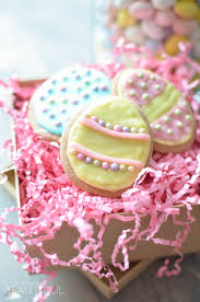 sugar easter eggs easter sugar cookies a burst of beautiful