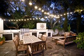 Backyard String Lighting Ideas Design Of String Lights For Patio Exterior Design Ideas Make