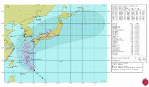 Okinawa Map Typhoon