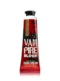 vampire blood hand cream bath u0026 body works