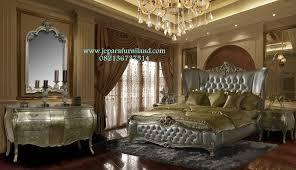 Acme Hollywood Chantelle Bedroom Set Set Kamar Tidur Pengantin Luxury Super Mewah Full Jok Klasik Ukir