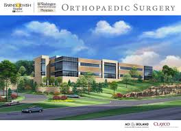 Barnes Jewish Hospital St Louis Wustl Barnes Jewish Hospital Build 13 Million Orthopaedic Center