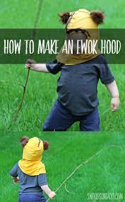 diy ewok tutorial ewok how to make an and hoods