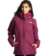 women s north face jackets coats blacks