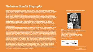 mohandas gandhi biography essay a biography of mohandas karamchand gandhi indian philosopher college