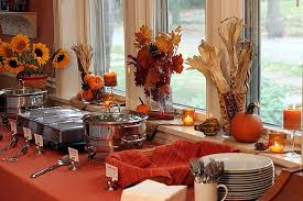 interesting thanksgiving buffet table decorating ideas 80 on