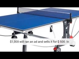 used outdoor ping pong table used outdoor ping pong table youtube