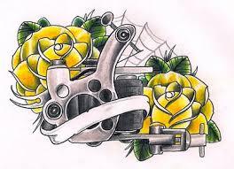 tattoo gun sketch tattoomachine explore tattoomachine on deviantart
