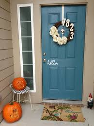 Door Decals For Home by Hello On The Outside Goodbye On The Inside Custom Vinyl Front