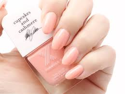 cupcakes u0026 cashmere formula x nail color in peach tea