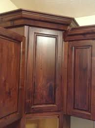 cabinet outside corner molding kitchen cabinet makeover install crown molding helloi live here