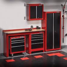 Garage Cabinet Set Living Room Lovely Red Craftsman Garage Storage Cabinets Set On