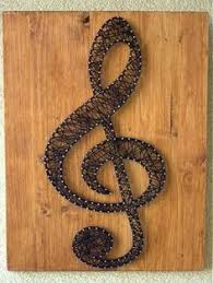 string art music note nail and string art musician christmas