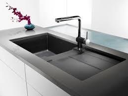 lavabo de cuisine silgranit composé composite de granit naturel évier de cuisine à