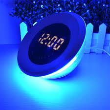 night light alarm clock up light alarm clock living colors led table l color changing