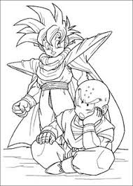 coloring sheild print dragon ball kai coloring pages print