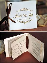 wedding church programs ten best diy programs for weddings something borrowed wedding diy