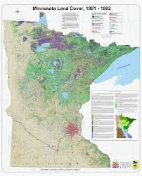 Minnesota vegetaion images Minnesota land use and cover dnr map gif