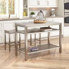 kitchen island with shelves awesome stainless steel kitchen island u2014 derektime design