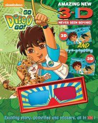 diego exciting story activities stickers 3d