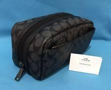 Mens Vanity Bag Coach Mens Toiletry Bag Ebay