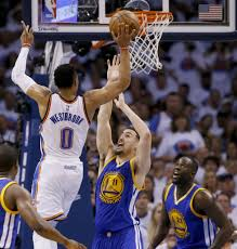 westbrook thunder put warriors on brink of elimination the san