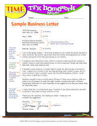 Cover Letter Example For Students Exandle Business Letter Format For Kids Write Business Letter