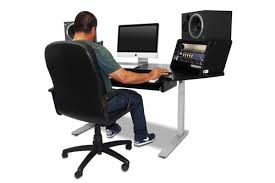 Ergonomic Sit Stand Desk Lite 61 Keyboard Sit Stand Desk