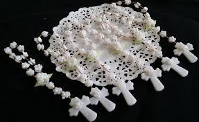 communion favors wholesale 24 communion rosary favor mini rosary baptism favor