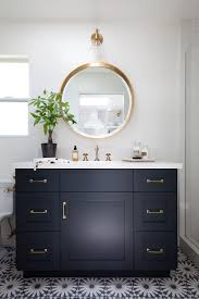 good looking brushed brass bathroom image ideas with gold hardware