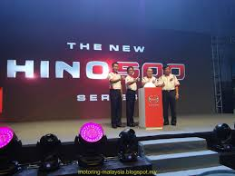 motoring malaysia truck news hino launches the latest hino 500