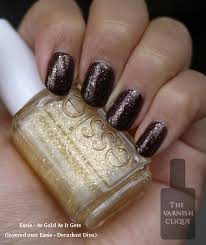 essie u2013 as gold as it gets the new gold glitter from the