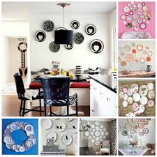 Diy For Home Decor by Plate Wall Collage Diy For Life