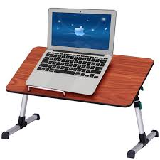 Standing Desk Laptop Costway Rakuten Costway Portable Height Adjustable Laptop Bed