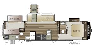 keystone travel trailer floor plans cougar half ton rv new u0026 used rvs for sale all floorplans