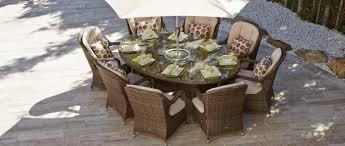 8 seat oval rattan dining set eton chair