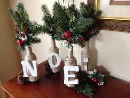 diy christmas decor letter u0026 twine wine bottles christmas