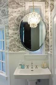 Crystal Bathroom Mirror 25 Best Powder Room Tiny Silver Gem Images On Pinterest