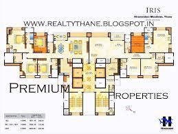 Luxury Apartment Floor Plans 71 Best Floor Plans Hiranandani Thane Images On Pinterest Floor