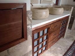 Oriental Bathroom Vanity by Bathroom 467173 30 Vanity Cabinet Rustic Oak Top Asian Bathroom