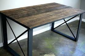 Modern Rustic Desk Industrial Office Desk Magnificent Modern Industrial Office