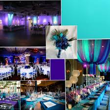 purple and turquoise wedding reception ideas wedding decor theme