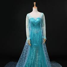 frozen costume frozen elsa costume frozen elsa dress costume uniqso