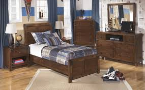 Bedroom Set With Media Chest Buy Ashley Furniture Delburne Youth Panel Bedroom Set