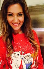 girls in christmas sweater thechive