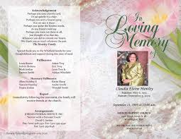 Sample Of Funeral Programs Funeral Program Template Template Free Download Speedy Template