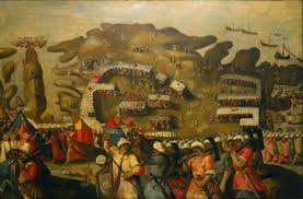 siege a the siege of malta arrival of the fleet 20 may 1565