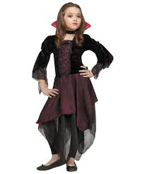 Childrens Scary Halloween Costumes Kids Lady Dracula Scary Halloween Costume