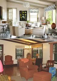 renovierungsideen wohnzimmer fensterrahmen und deckenbalken streichen als renovierungsideen für