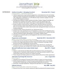 Resume Examples Byu by Servicenow Resumes Sla For User Support And Problem Correction